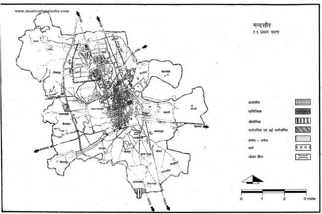 Mandsaur First Phase Map