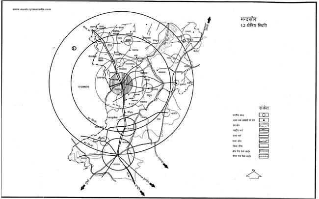 Mandsaur Regional Location