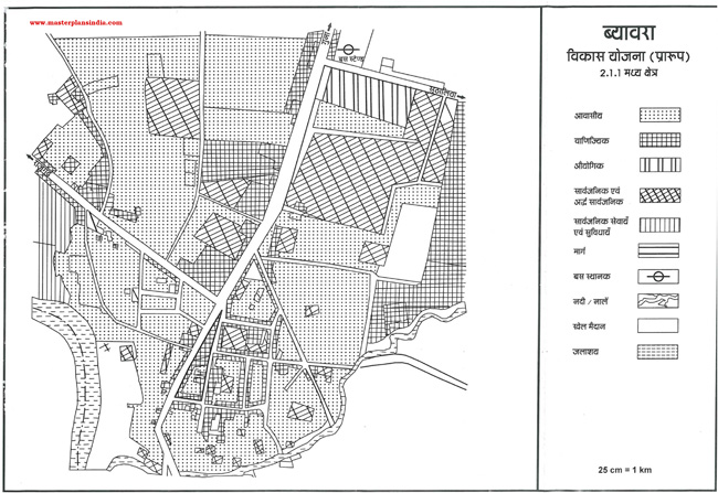 Biora Development Plan Map Draft