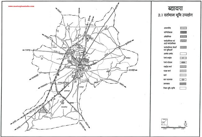 Biora Existing Land Use Map