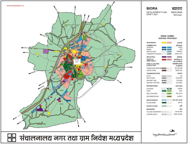 Biora Master Plan 2021 Map Draft