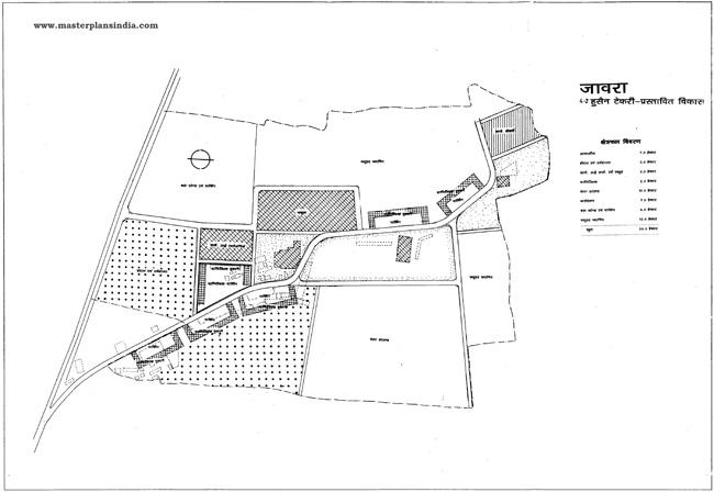 Jaora Hussain Tekri Proposed Development Map