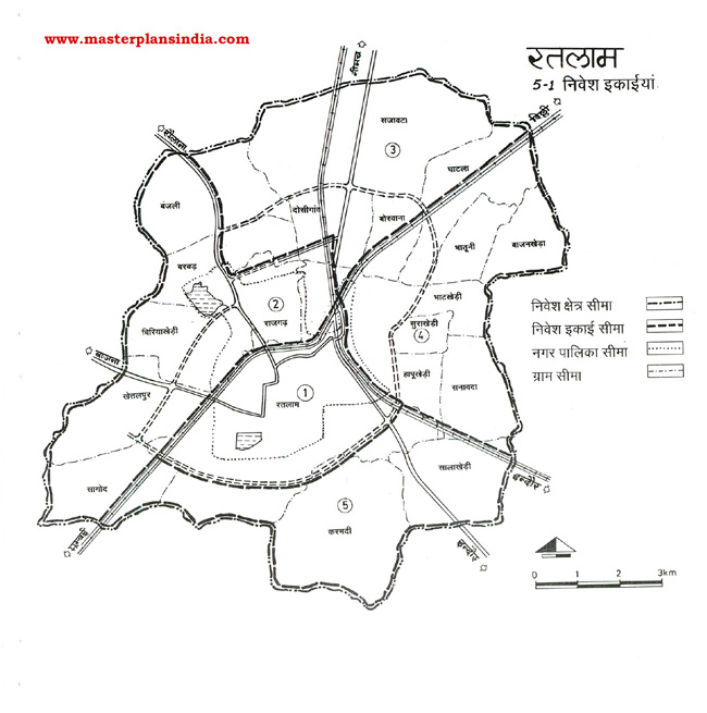Ratlam Investment Units Map