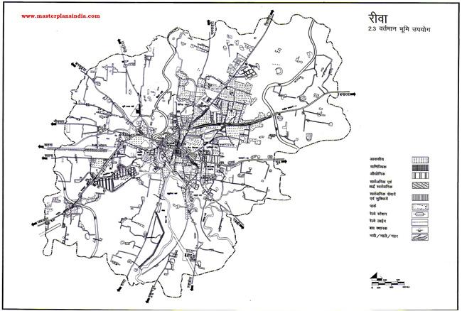 Rewa Existing Land Use Map