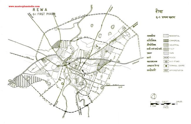 Rewa First Phase Map 2001