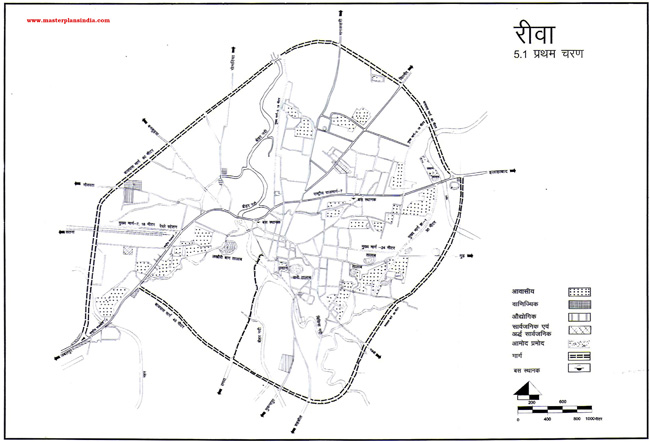 Rewa First Phase Map