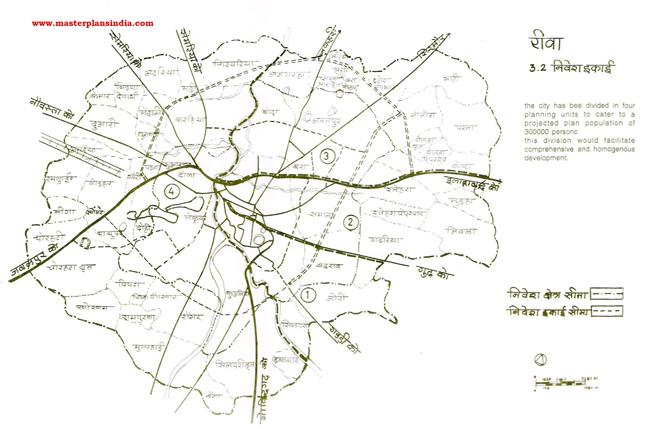 Rewa Investment Units Map 2001
