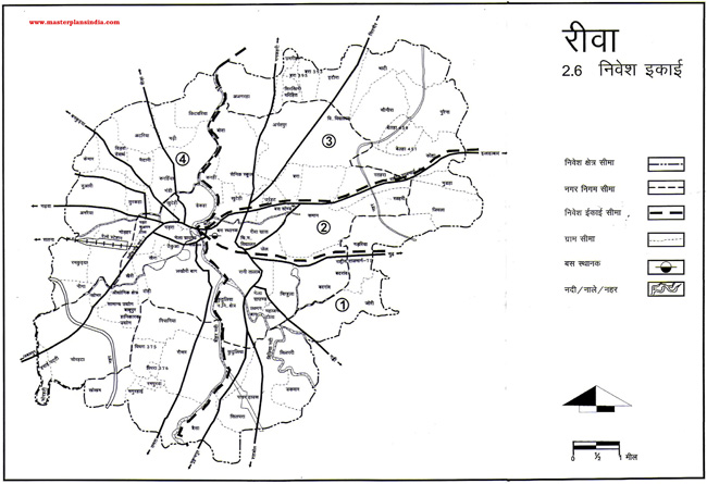 Rewa Investment Units Map