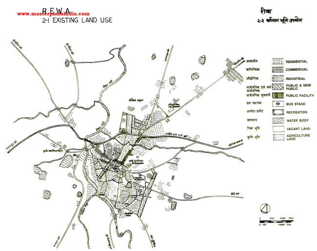 Rewa Land Use Map 2001