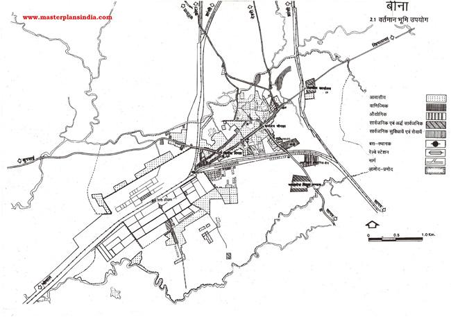 Bina Existing Land Use Map