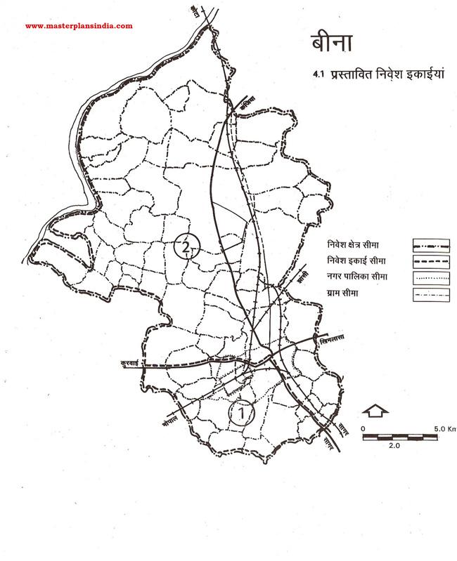 Bina Proposed Planning Units Map