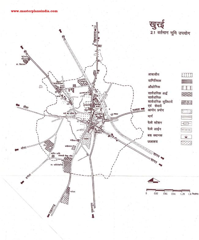 Khura Existing Land Use Map