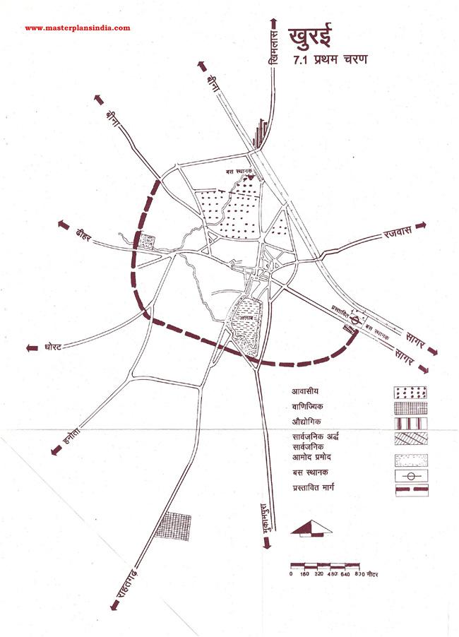Khura First Phase Map