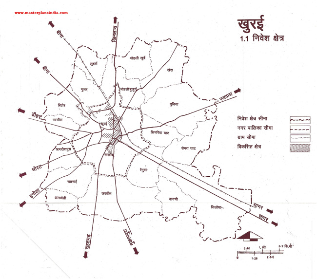 Khura Planning Area Map