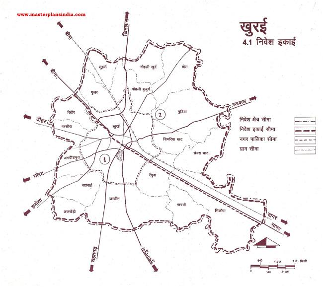 Khura Planning Units Map