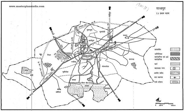 Shajapur First Phase Map