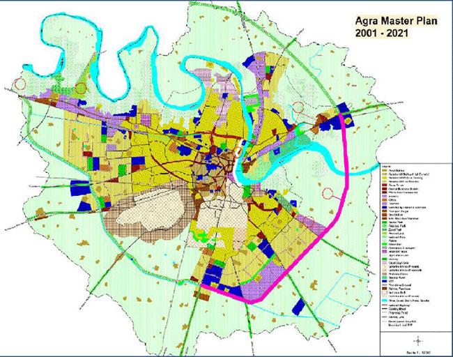 Agra Master Plan 2021