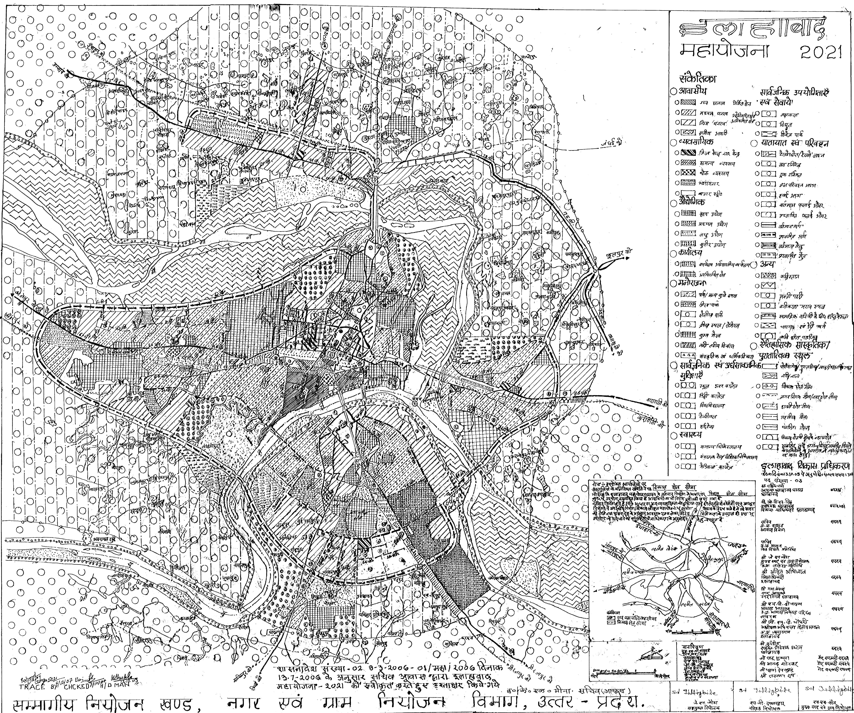 Allahabad Master Plan 2021 Map PDF Download Master Plans India