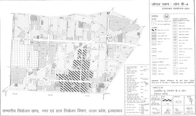 Allahabad Zonal Plan Zone B4